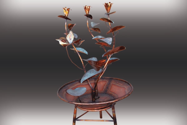 Copper Fountains